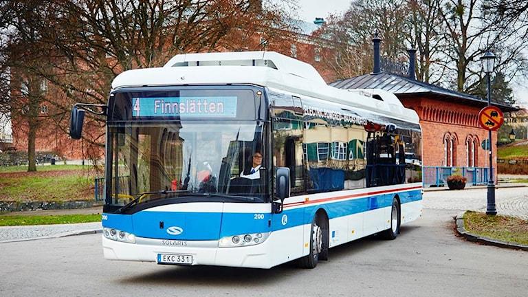 Ny elbuss i Västerås.