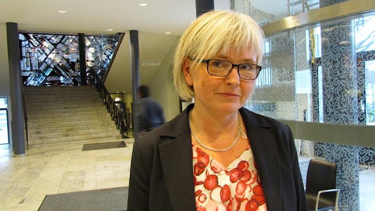 Gunilla Westberg, myndighetschef på Sociala nämndernas förvaltning i Västerås.