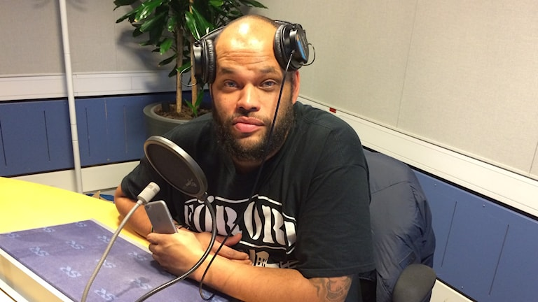 Artisten och numera författaren Kan Ring. Foto: Sveriges Radio
