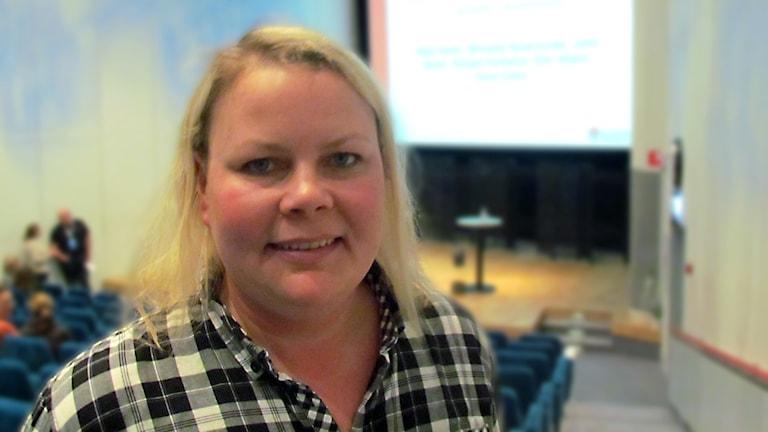 Malin Pettersson Landstinget Västmanland. Foto: Inga Korsbäck/Sveriges Radio.