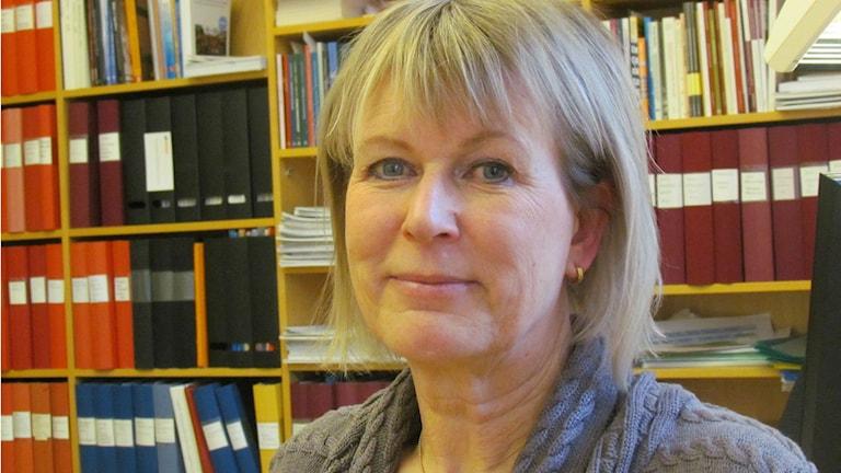 Maria Müllersdorf MDH. Foto: Inga Korsbäck/Sveriges Radio.