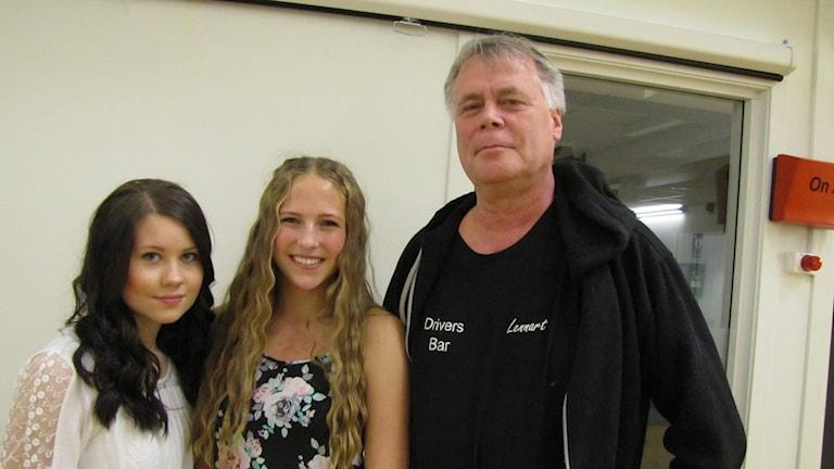Felicia Thulin Olsson, Elina Tidström och Lennart Heintz.