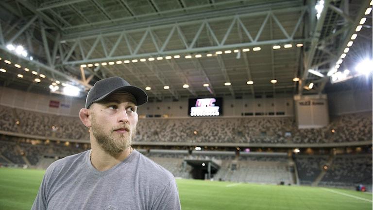 Alexander Gustafsson på Tele2 Arena