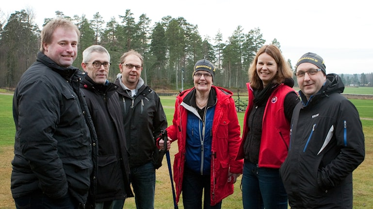 Anders Öhrn, Leif Andersson, Richard Wauge, Carina Lurén, Maria Engelfelt och Anders Jacobsson. Foto: Pia Lindhe Rudolf/Pila Media.