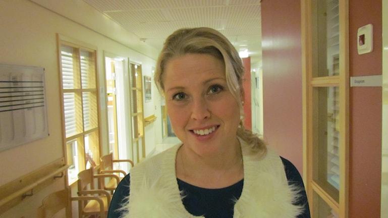 Emelie Condén. Foto: Inga Korsbäck/Sveriges Radio.