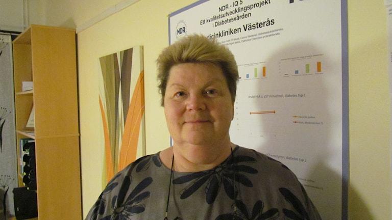 Katarina Holmström-Engevik. Foto: Inga Korsbäck/Sveriges Radio.