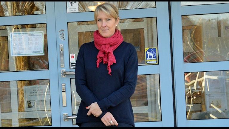 Carina Sándor. Foto: Monica Elfström/Sveriges Radio.