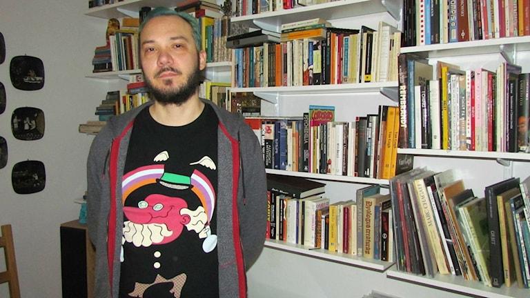 Marcus Ivarsson. Foto: Marcus Carlsson/Sveriges Radio