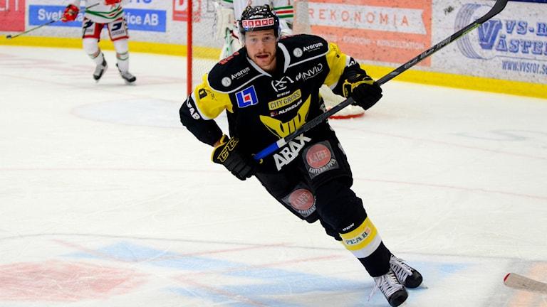 VIK Hockeys Jan Urbas. Foto: Mattias Forsberg/SR.