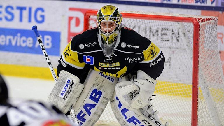 VIK Hockeys Jonas Fransson. Foto: Mattias Forsberg/SR.