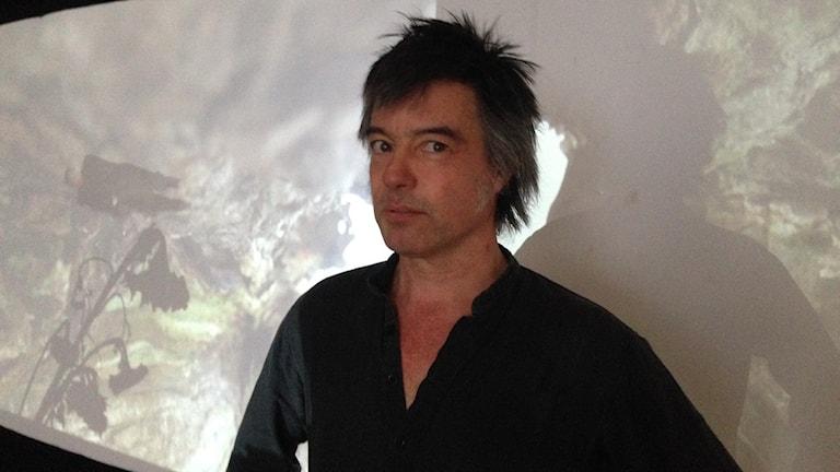 Konstnären Gustaf Broms. Foto: Sveriges Radio