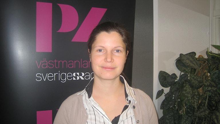 Miriam Lundqvist är verksamhetsledare på Lajvverkstaden.