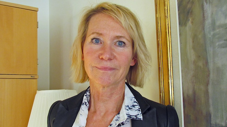 JuneAnn Wincent. Foto: Erika Mårtensson/Sveriges Radio.