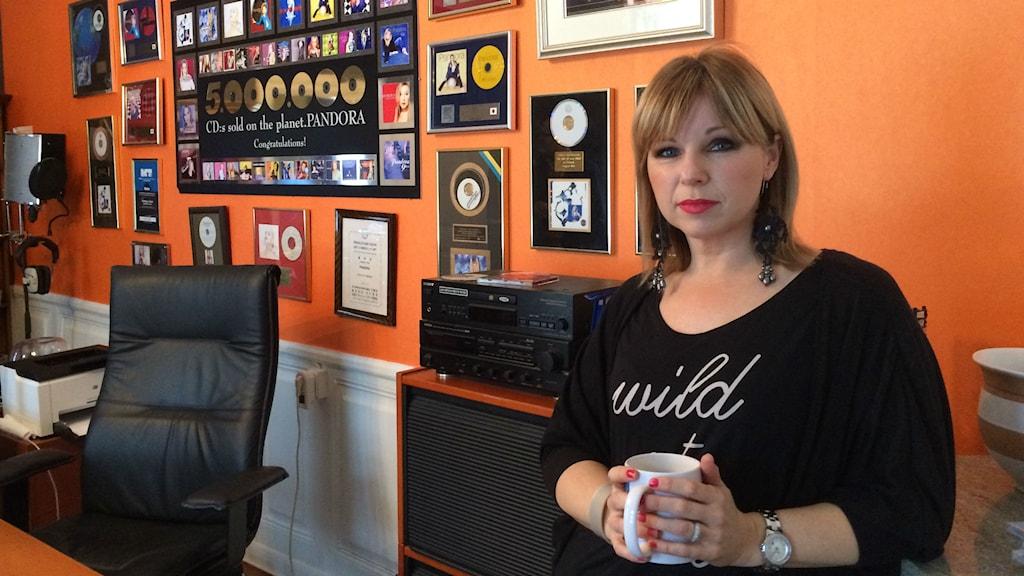 Annelie Pandora Magnusson. Foto: Martin Vare/Sveriges Radio