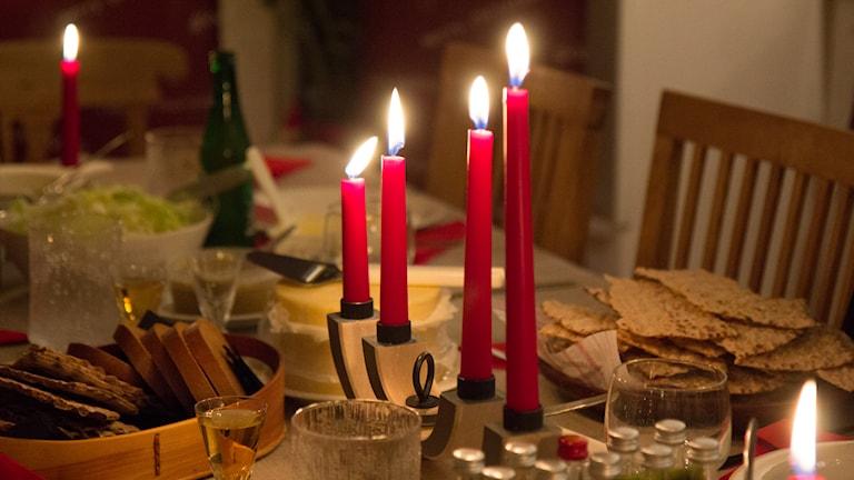 Schwedisches Weihnachtsessen Foto: Michael Gawell. Sveriges Radio.