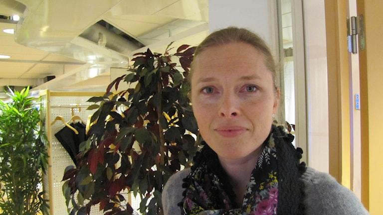 Emma Brusling. Foto: Inga Korsbäck/Sveriges Radio.