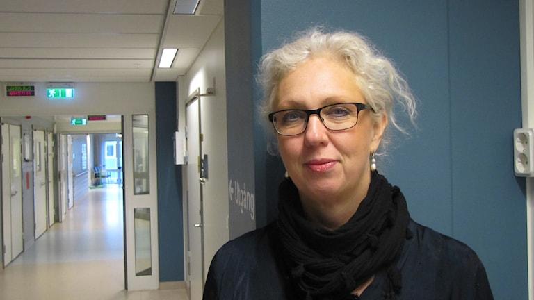 Åsa Lundholm. Foto: Inga Korsbäck/Sveriges Radio.