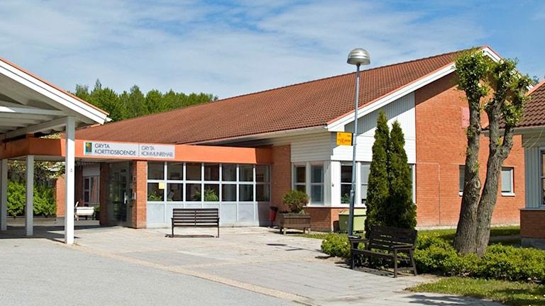 Gryta korttidsboende och hospice. / Foto: Michael Gawell. Sveriges Radio.