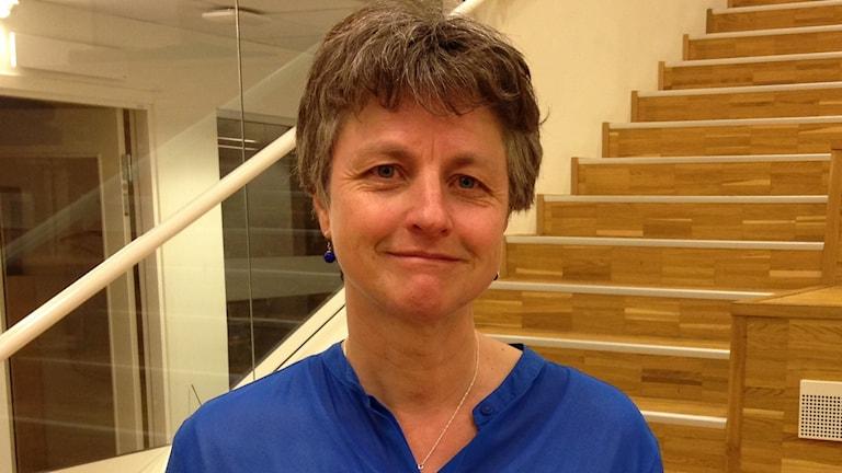 Birgitta Kerstis, barnsjuksköterska Centrum för klinisk forskning. Foto: Filip Annas/SR