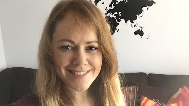 Emma Dalman ska åka Engelbrektsloppet med nytt hjärta. Foto: Privat