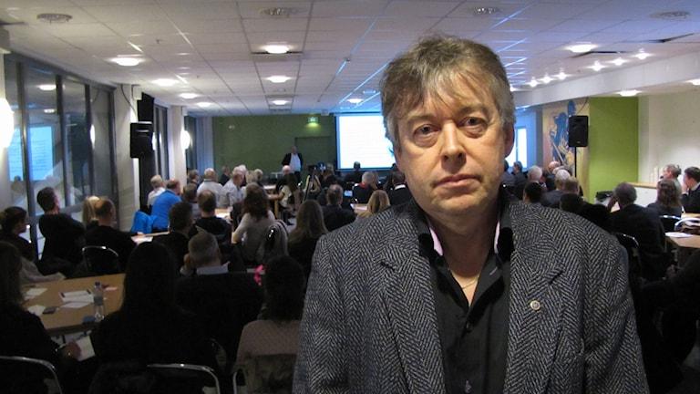 Stefan Brandberg. Foto: Inga Korsbäck/Sveriges Radio.