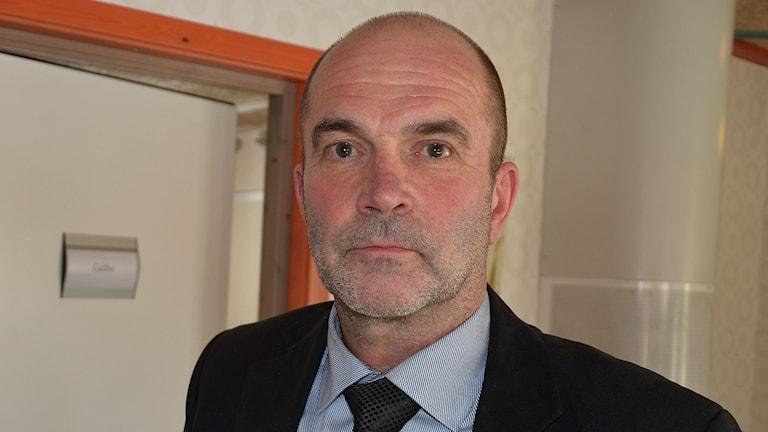 Harold Nilsson, förbundschef i NVK.
