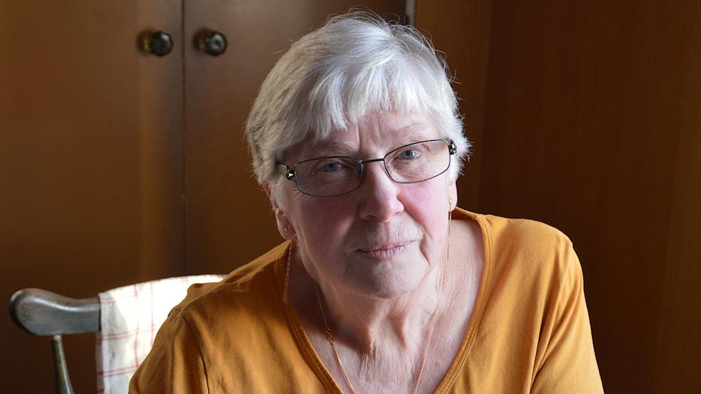 Gunilla Persson. Foto: Monica Elfström/Sveriges Radio.