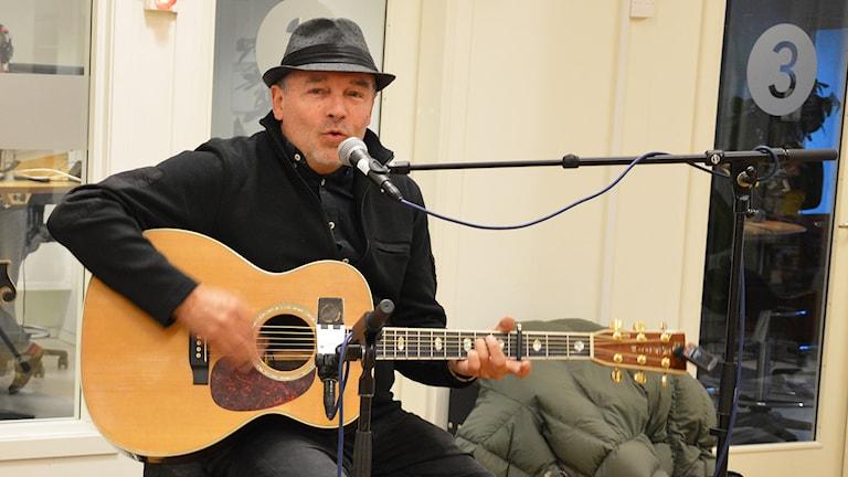 Roger Rönning. Foto: Eva Kleppe/Sveriges Radio.