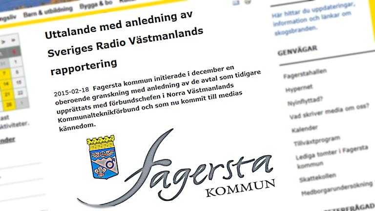 Från Fagersta kommuns hemsida.