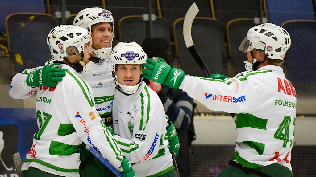 VSK Bandy jublar. Foto: Ulf Palm/TT.