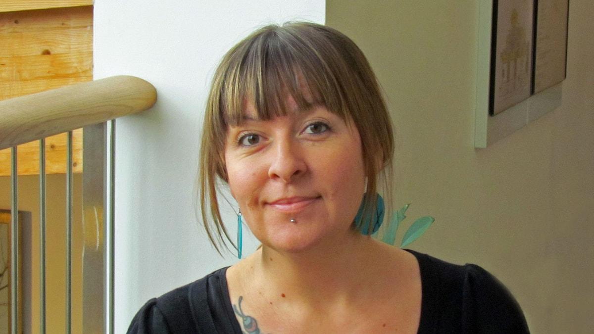 Marika Hämeenniemi. Foto: Monica Elfström/Sveriges Radio.