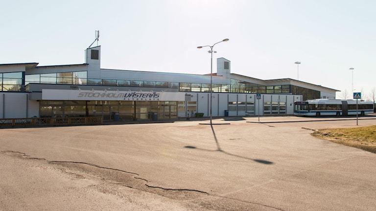 Terminalen på Västerås Flygplats. Foto: Andreas Eriksson/Sveriges Radio.