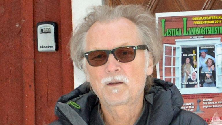 Kenneth Risberg. Foto: Monica Elfström/Sveriges Radio.