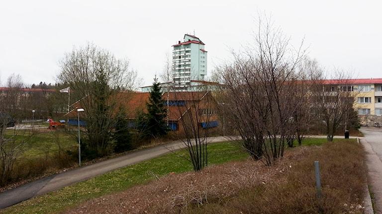 Del av bostadsområdet Råby i Västerås.