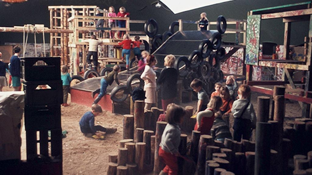 Bild inifrån Ballongen på Råby 1968. Foto: Jan Jonsson.