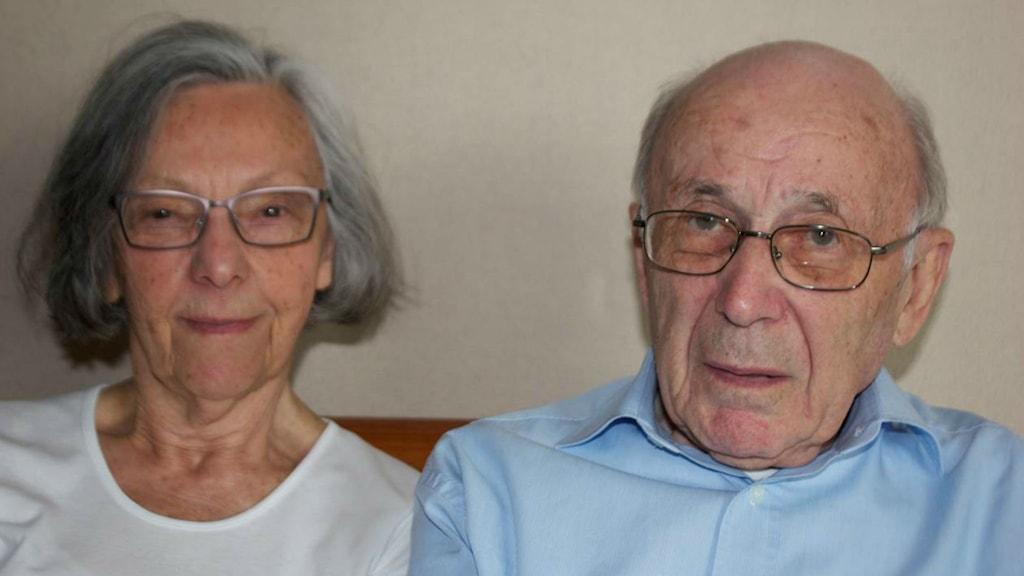 Motek och Eleonore överlevde båda förintelsen.