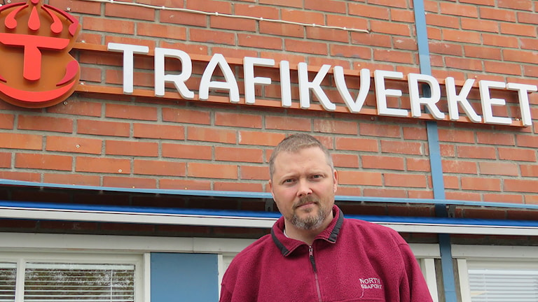 Karl Åkerlind på Trafikverket. Foto: Monica Elfström/Sveriges Radio.