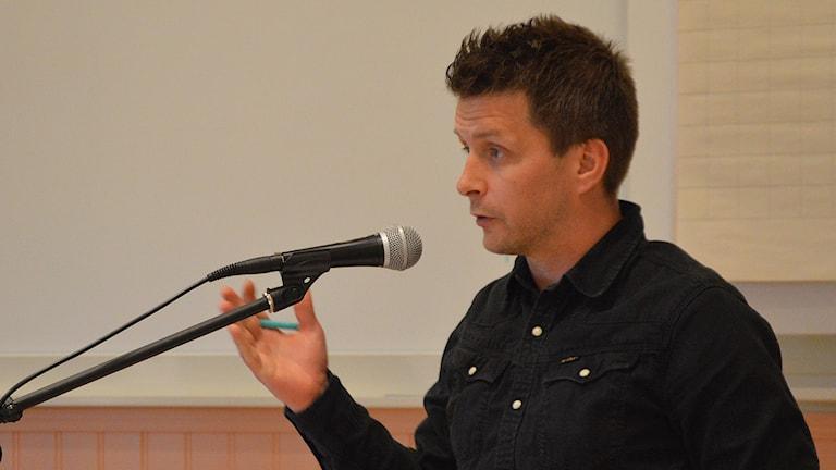 Marino Wallsten Socialdemokraterna Fagersta. Foto: Monica Elfström/Sveriges Radio.