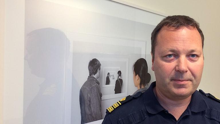 Björn Wilhelmsson, chef för polisområde Västra Mälardalen.