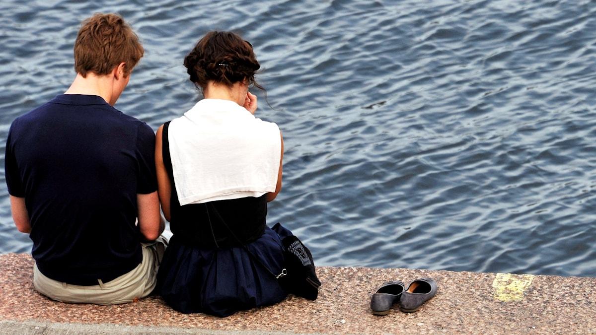 Vänskap. Foto: Hasse Holmberg/TT.