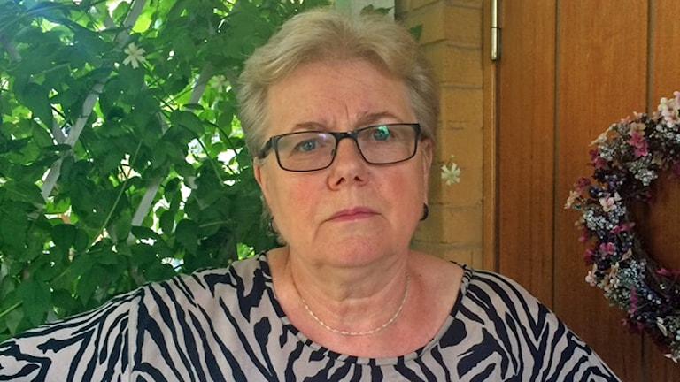 Agneta Bode (S) kommunalråd Arboga. Foto: Monica Elfström/Sveriges Radio.