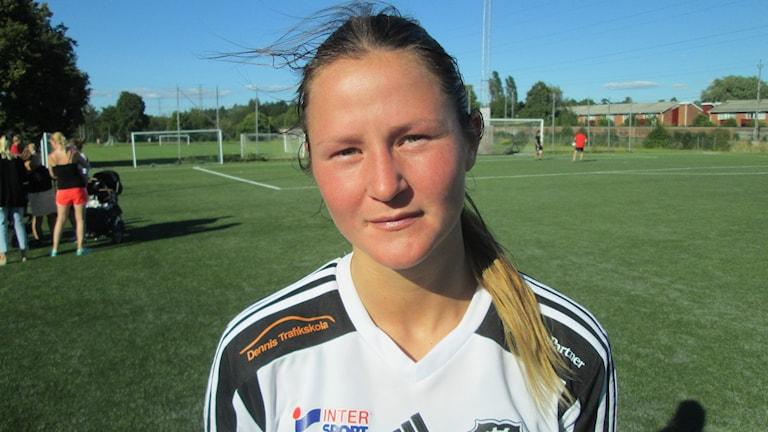 Nicole Modin Västerås BK30. Foto: Hans Sjöström/Sveriges Radio