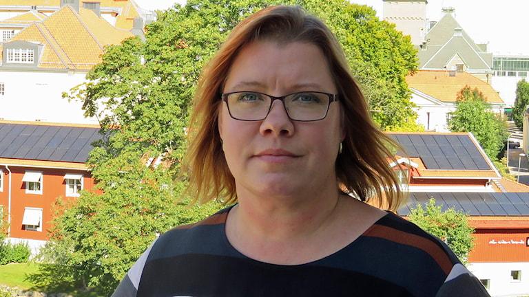 Jenette Källstad Västmanlands kommuner och landsting, VKL. Foto: Monica Elfström/Sveriges Radio.