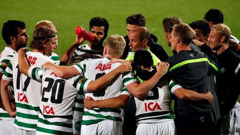 VSK Fotboll. Foto: Tobias Barkskog.