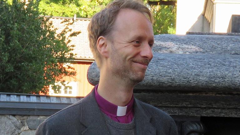 Mikael Mogren. biskop i Västerås stift. Foto: Monica Elfström/Sveriges Radio.