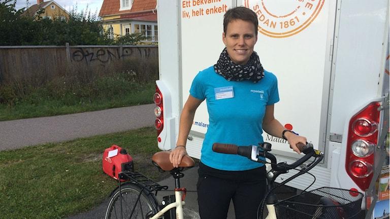 Anna Malmström, energi och klimatrådgivare på Västerås stad.