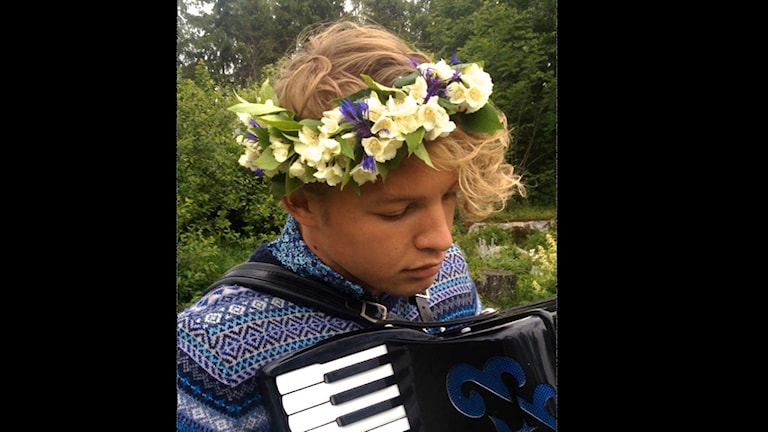 Jonas Köhler, Västerås, tilldelas föreningen Konserthusets Vänners ungdomsstipendium 2015. Foto: privat.