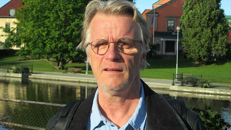 Per-Olof Rask, från Västerås stads trygghet- och säkerhetsenhet. Foto: Marcus Carlsson.