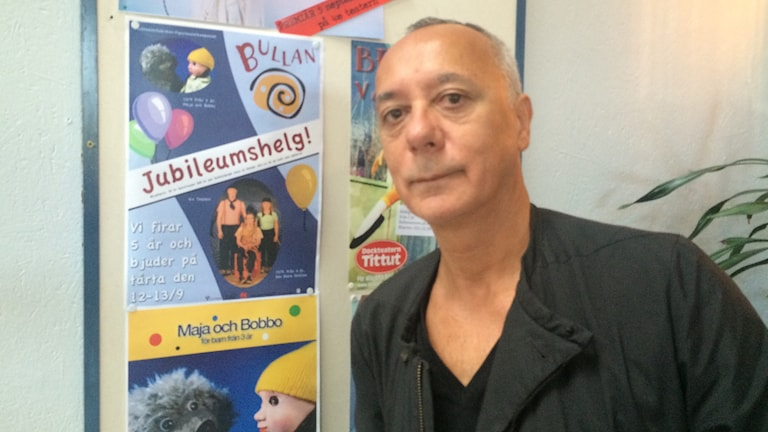 Hugo Catolino. Foto:Terje Lund/Sveriges Radio