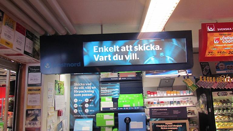 Postombud. Foto: Inga Korsbäck/Sveriges Radio.